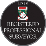 Registered Professional Surveyor badge